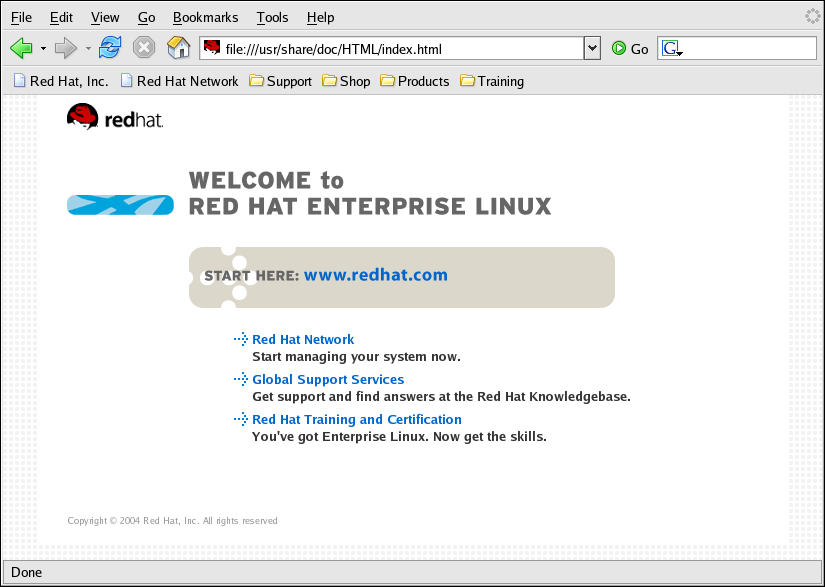 CentOS Enterprise Linux Step by Step Guide - Web Browsing