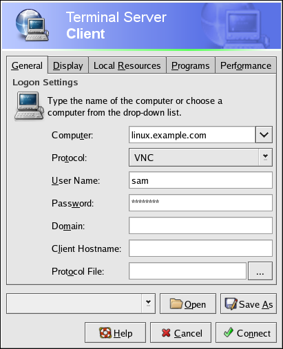how to connect a system through remote desktop