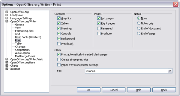 OpenOffice Writer 3 x - Choosing icons for toolbar commands