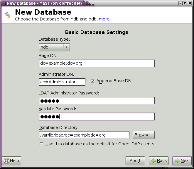 how to find your ldap server